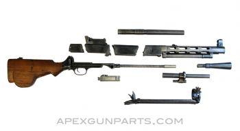 DP28 Parts Kit with Torch Cut Receiver, Hungarian, 7.62x54R, *Very Good*