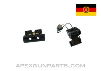 East German AKM / MPi-KM Clip on Night Sights, *Good to Very Good*