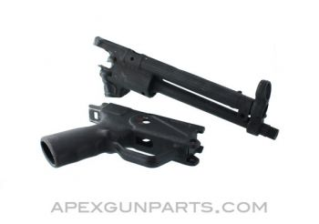 HK33 / C93 Pistol Barrel Assembly with Stripped Grip, .223 / 5.56, US Made 922(r) Compliant Part, *Unused*