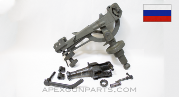 SGMT Goryunov Vehicle Cradle Assembly With U.S. & Soviet Pintle Shanks *Good*