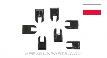 Polish RPD Catch Plate, Lower Receiver Retaining Pin, *Good*