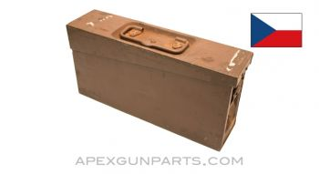 Czech ZB-37 Ammo Can, Steel w/Carry Handle, *Good*