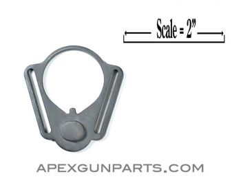 AR15/M16 Adapter Plate, Rear Sling, Ambidextrous, Long Slot