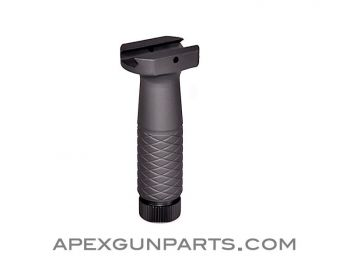 Vertical Hand Grip, Matte Black, NEW