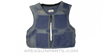 Ballistic Pullover Vest, Soft Armor Panels Installed, Heavy Use, Sold *As Is*