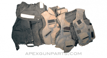 Ballistic Carrier / Vest, Soft Armor Panels Installed, Heavy Use, Sold *As Is*