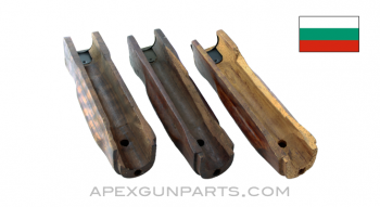 Bulgarian AK-74 Project Lower Palmswell Handguard, Set of 3, *Damaged*, Sold *As Is*