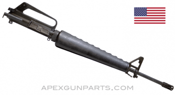 "Colt 603 M16A1 Upper Assembly 1972-1974, 20"" Barrel, A1 Flash Hider, 5.56X45 NATO, *Fair*"
