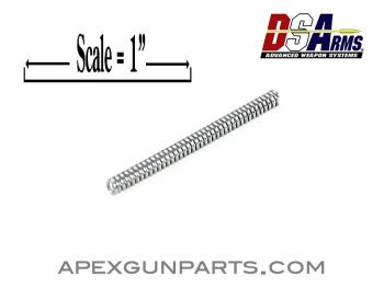 AR-15 Receiver Rear Takedown Pin Spring, by DS Arms, *NEW*