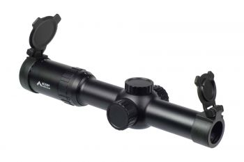 SFP Rifle Scope, Silver Series Gen III, 1-6 Power with ACSS Reticle, .300AAC/7.62x39, 30mm Tube, by Primary Arms, *NEW*
