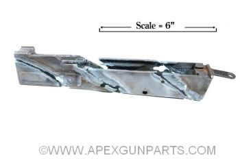 Polish Milled AK47 Fixed Stock Cut Demilled Receiver