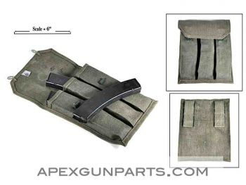 PPS-43 Pouch with Three 35rd Magazines, 7.62X25