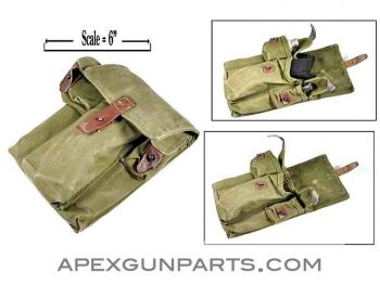 Romanian AK47 Three-30rd Magazine Divided Pouch