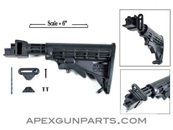 TAPCO AK47/AK74 T6 Adjustable Buttstock, NEW US Made 922(R) Part