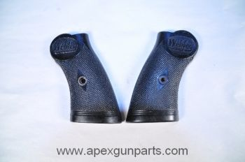 Set Of Original Grips, Webley MKIV .38